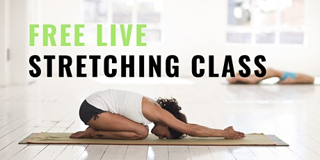 Stretch & Glow Class - live on Facebook tickets