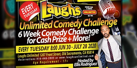 Laughs Unlimited Comedy Challenge tickets