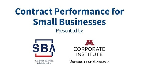 SBA/U of M Business Law Series: Contract Performance for Small Businesses tickets