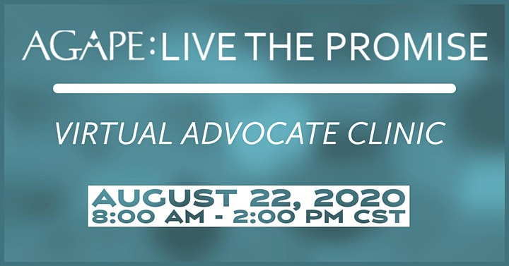 AGAPE: LIVE THE PROMISE Advocate Clinic image