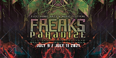 FREAKS PARADIZE FESTIVAL 2020 postpound to 2021 tickets