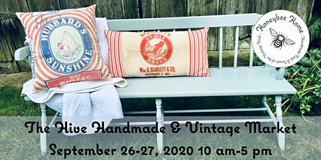 The Hive Vintage and Handmade Fall 2020 Market tickets