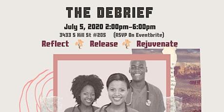 The Debrief tickets