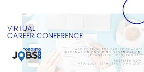 TorontoJobs.ca Virtual Career Conference tickets