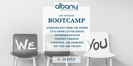 Albany Appointments: Job Seeker's Bootcamp tickets