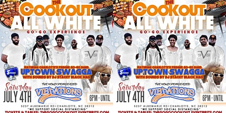 The Cookout : All White Go-Go @ Club Vibrations tickets