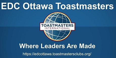 EDC Ottawa Toastmasters Online Meeting tickets
