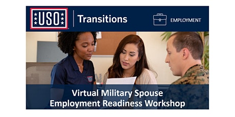 Virtual Military Spouse Employment Readiness Workshop tickets