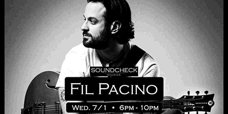 Fil Pacino  at Soundcheck Studios (Outdoor Concert Series) tickets