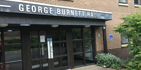 George Burnett Hall Room 101 - 134  - Move out slot tickets
