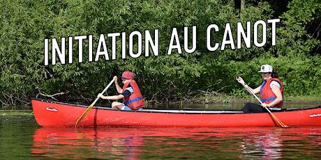 Initiation au canot / Parc de la Rivière billets