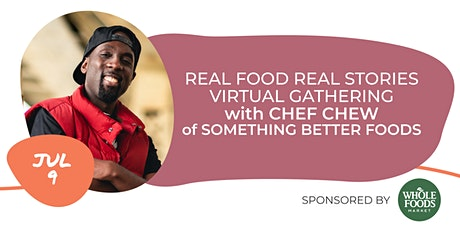 RFRS Virtual Gathering with Chef Chew tickets