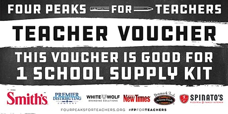 Four Peaks For Teachers Teacher Kit Pickups - Las Cruces, NM tickets