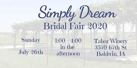 Simply Dream Bridal Fair 2020 tickets