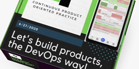 DevOps Product Box Design Game tickets