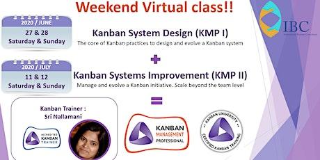 Virtual Kanban Systems Improvement- KSI (KMP 2) tickets