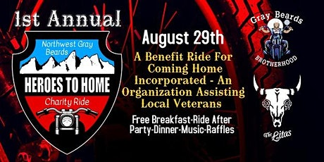 Heroes to Home Charity Ride 2020 tickets