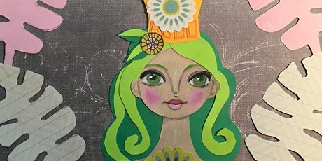 SUMMER ART CAMP: Paper Faces & Characters (ages 8-12) tickets