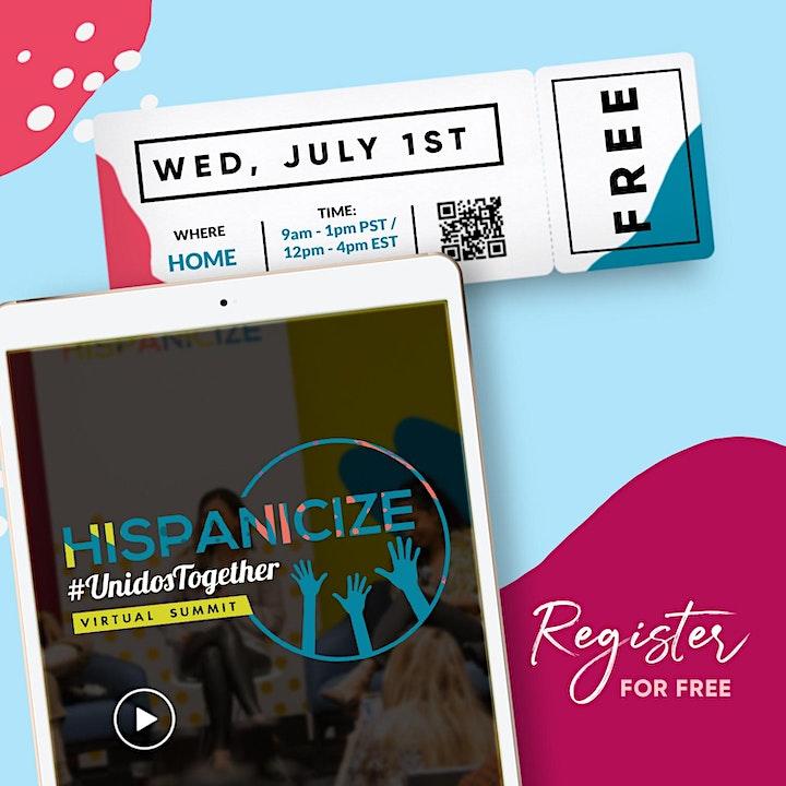 Hispanicize #UnidosTogether Virtual Summit image