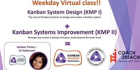 Virtual Kanban System Design- KSD (KMP 1) Weekday Class billets