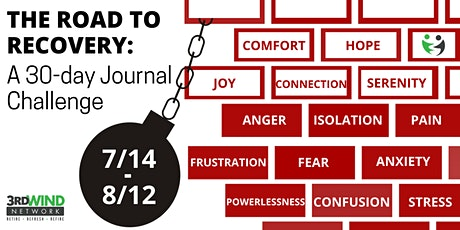 The Road To Recovery: a 30-day Journal Challenge tickets