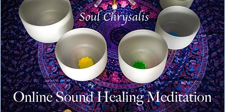 Online Intuitive Sound Healing Meditation tickets