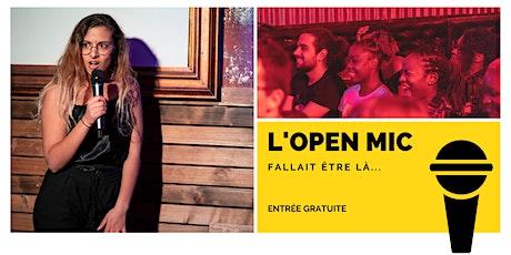 L'Open Mic de Lausanne  - 17 juillet billets