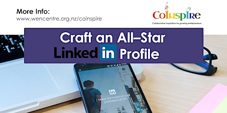 Craft an All–Star LinkedIn Profile tickets