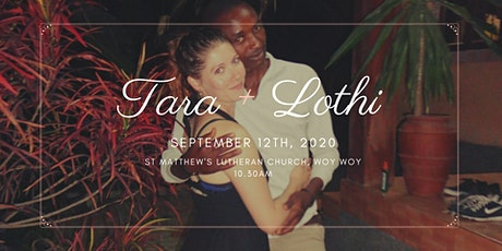 Tara & Lothi Wedding - New Date tickets
