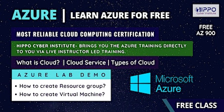 Free Microsoft Azure Training - AZ -900 with AZ -104 entradas