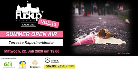 Fuckup Nights Salzburg VOL.13 - SUMMER OPEN AIR Tickets