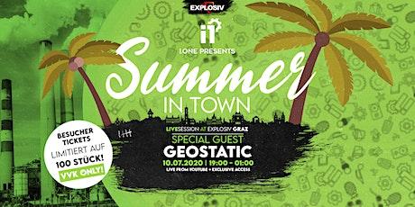I.ONE invites Geostatic (EBB) Tickets