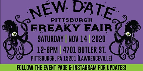 Pittsburgh Freaky Fair (RESCHEDULED) tickets