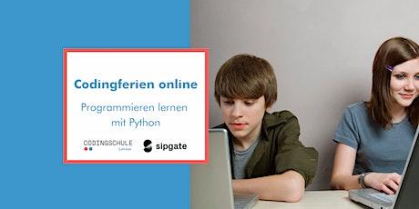 Codingferien: Programmieren lernen mit Python Tickets