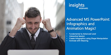 WEBINAR Advanced MS PowerPoint: Infographics and Animation Magic tickets