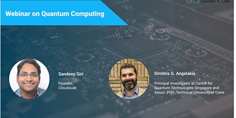 Free Webinar on Introduction to Quantum Computing biglietti