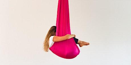 Aerial YIN Yoga Class - Your Yoga Now! - 9 Jul Tickets