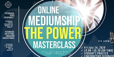 A Mediumship Masterclass -  Sitting In the Power tickets