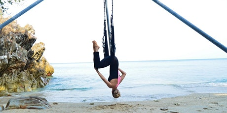 Aerial Yoga Beginner Intro Class - 15 Jul tickets