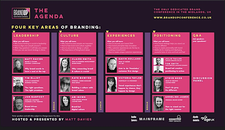 BrandUP2021 -  A conference dedicated to business leaders & brand strategy image
