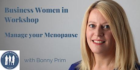 Manage your menopause, your questions answered. tickets