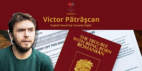 Victor Patrascan (RO) - English Stand-Up Comedy Tickets