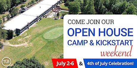 TLR Open House / Camp / Kickstart Weekend tickets
