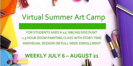 Virtual Kids Summer Arts Camp