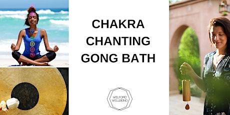 Chakra Chanting Gong Bath ingressos