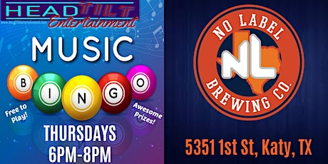 Music Bingo at No Label Brewing Co- Thursdays tickets