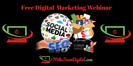 Digital & Social Media Marketing Webinar tickets