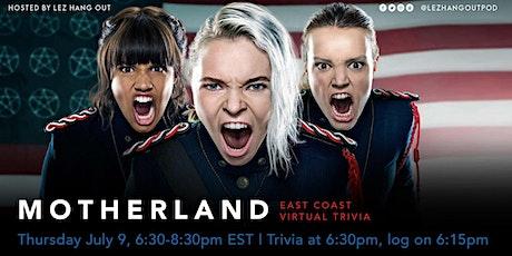 Motherland: Fort Salem Virtual Trivia - East Coast tickets