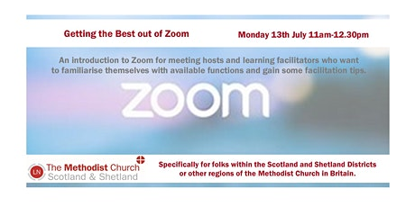 Getting the best out of ZOOM! tickets