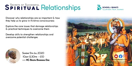 Secrets of Successful Spiritual Relationships tickets